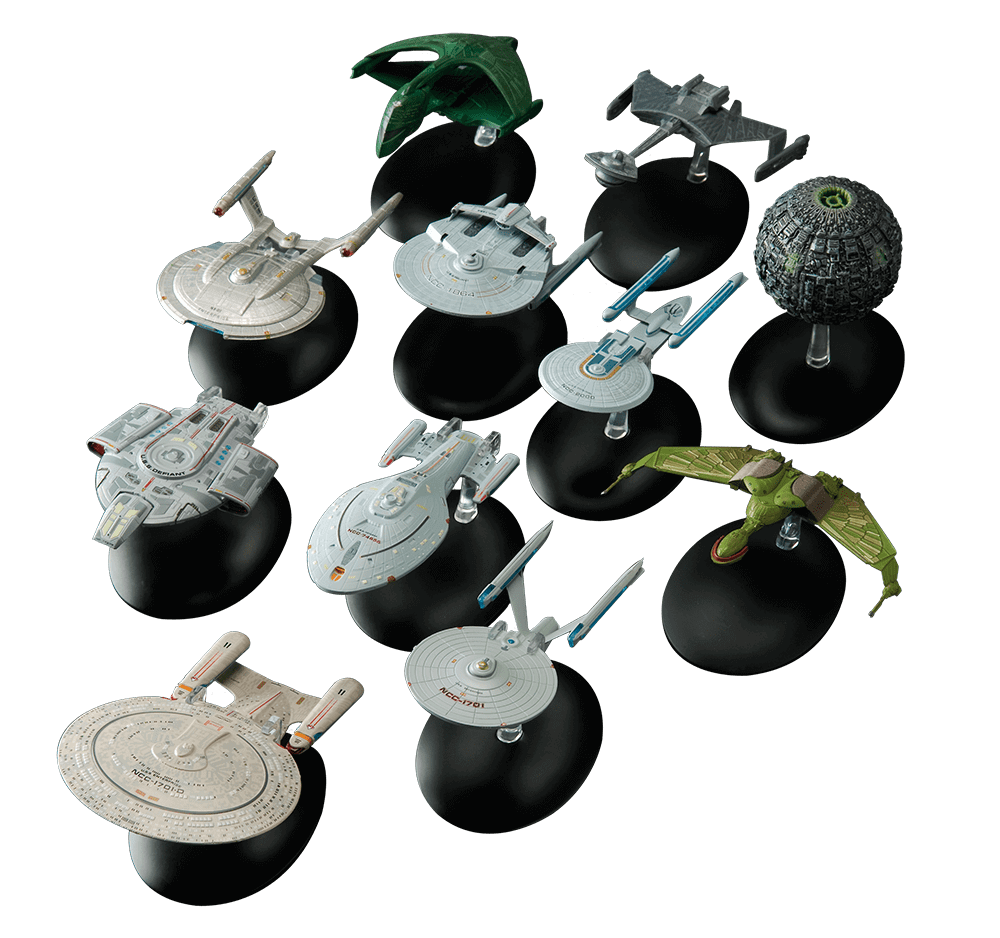 Official Star Trek Starship Collection Eaglemoss in 2020
