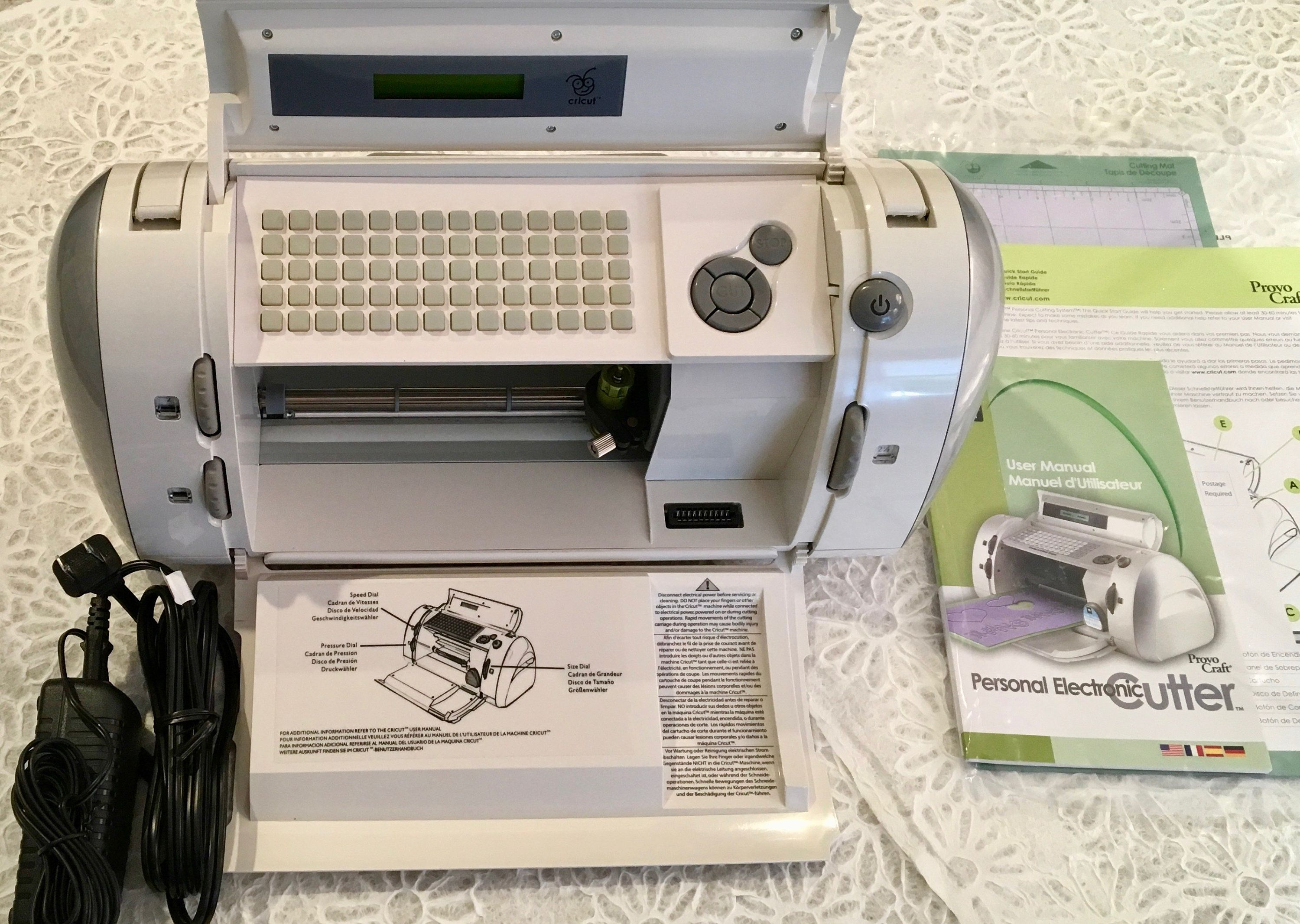 Cricut Personal Electronic Cutter CRV001 ~ BRAND NEW CONDITION ~ Free  Shipping by PaperDoveMemories on Etsy