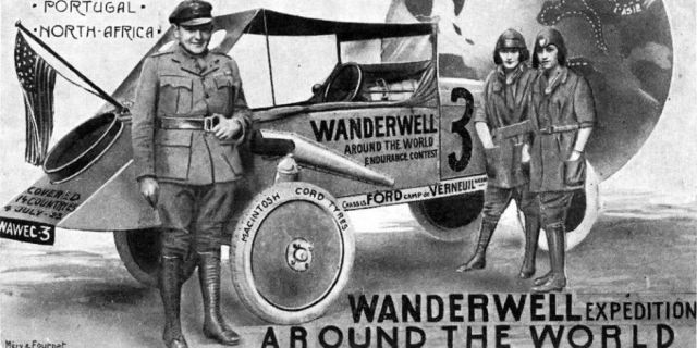 The Woman Who Drove Around the World in a Model T