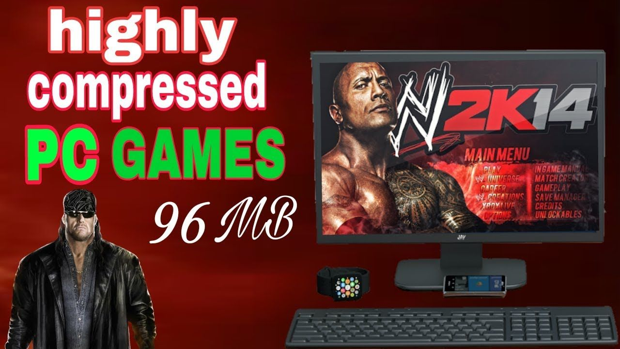 WWE 2K14 Only 96MB [ highly compressed ] PC Games | android