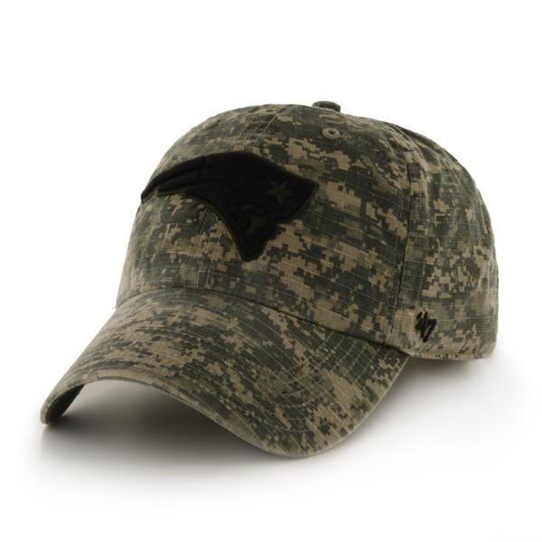 4127955ba3514b New England Patriots Officer Digital Camo 47 Brand Adjustable Hat ...