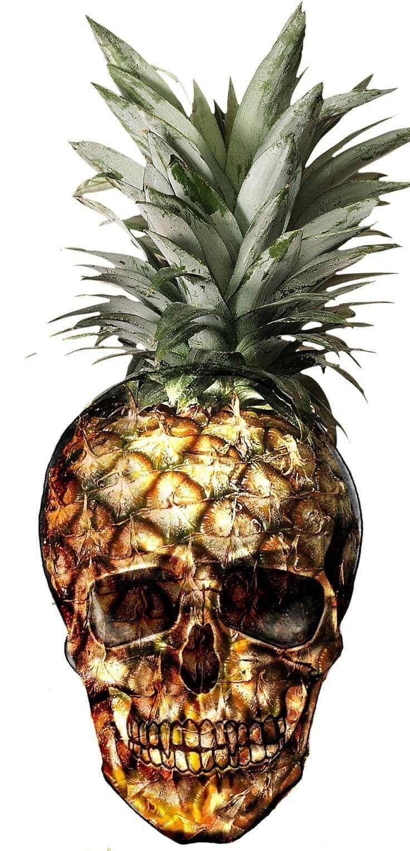 Ananas skull tattoo   Skulls and Skelletons Tattoos Ideas   Pinterest