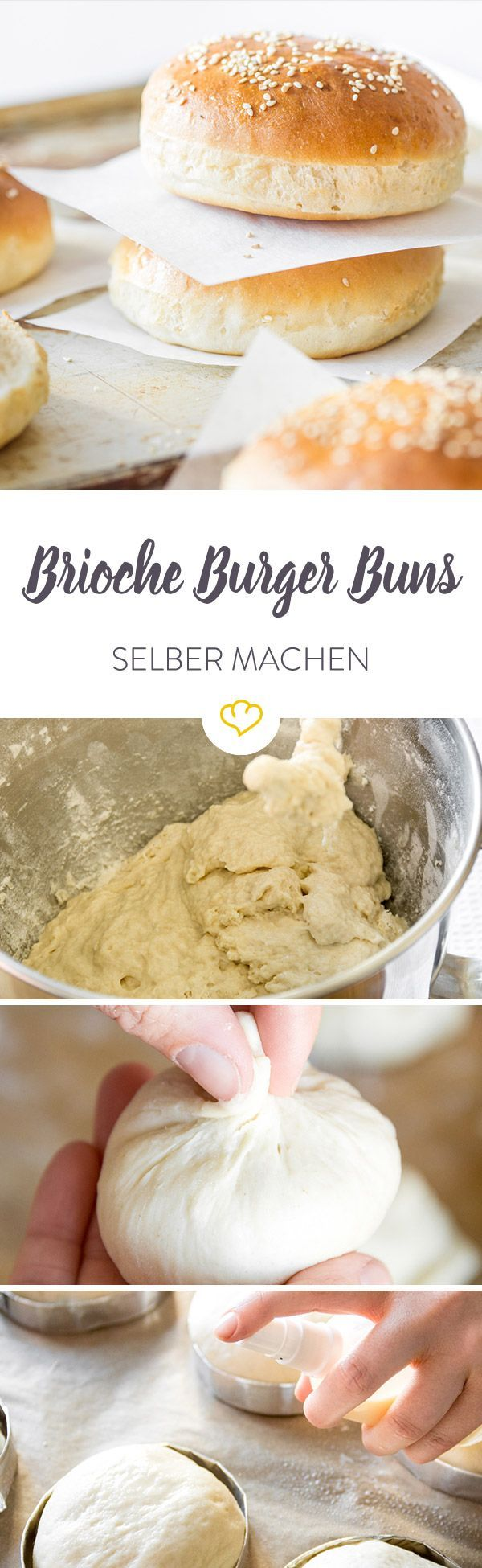 brioche burger buns recipe all things bread pinterest. Black Bedroom Furniture Sets. Home Design Ideas
