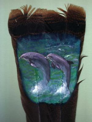 Amazing Feather Paintings (9)
