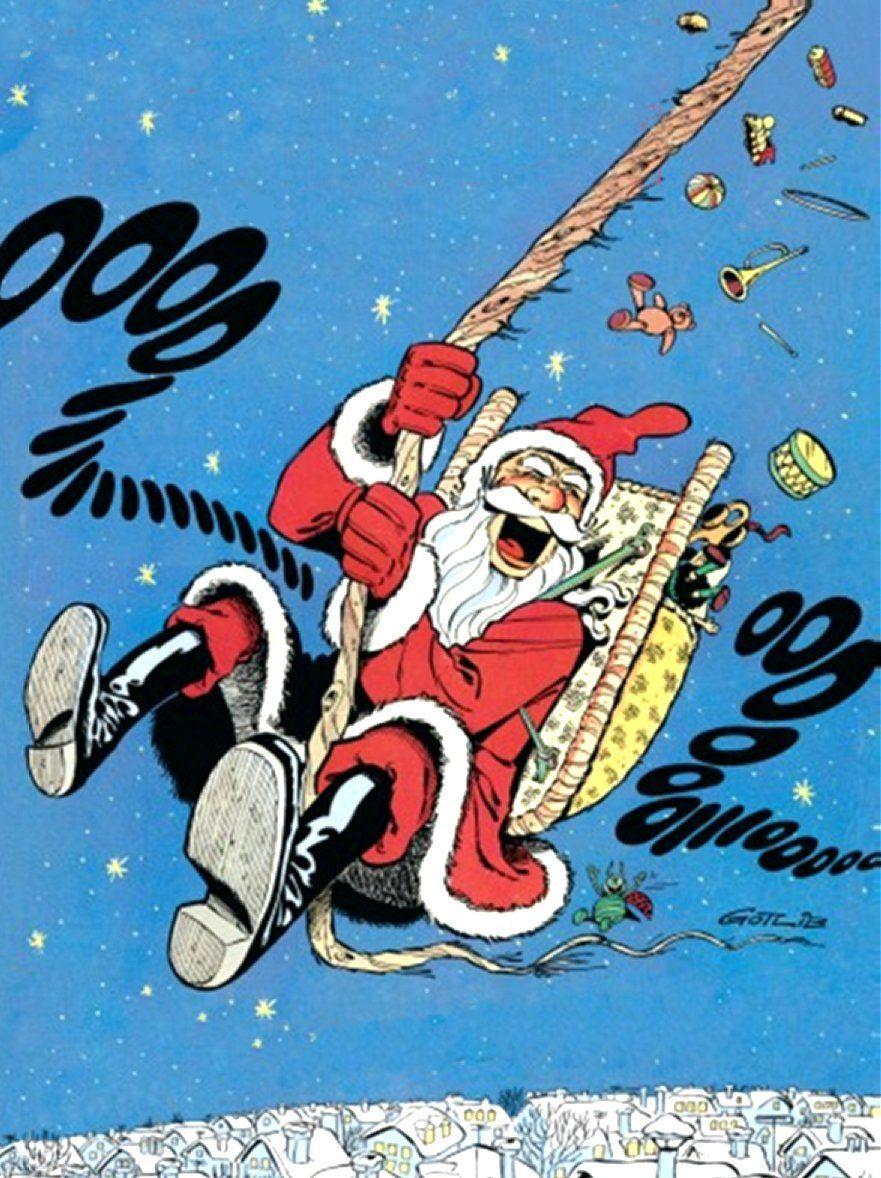 Joyeux Noel Histoire Des Arts.Joyeux Noel Gotlib Bande Dessinee Pilotes Et Belle