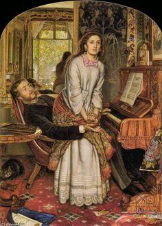 William H. Hunt; Il risveglio della coscienza; 1853; olio su tela; Tate Britain, Londra.