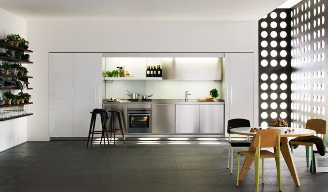 Superieur Concealed Kitchen