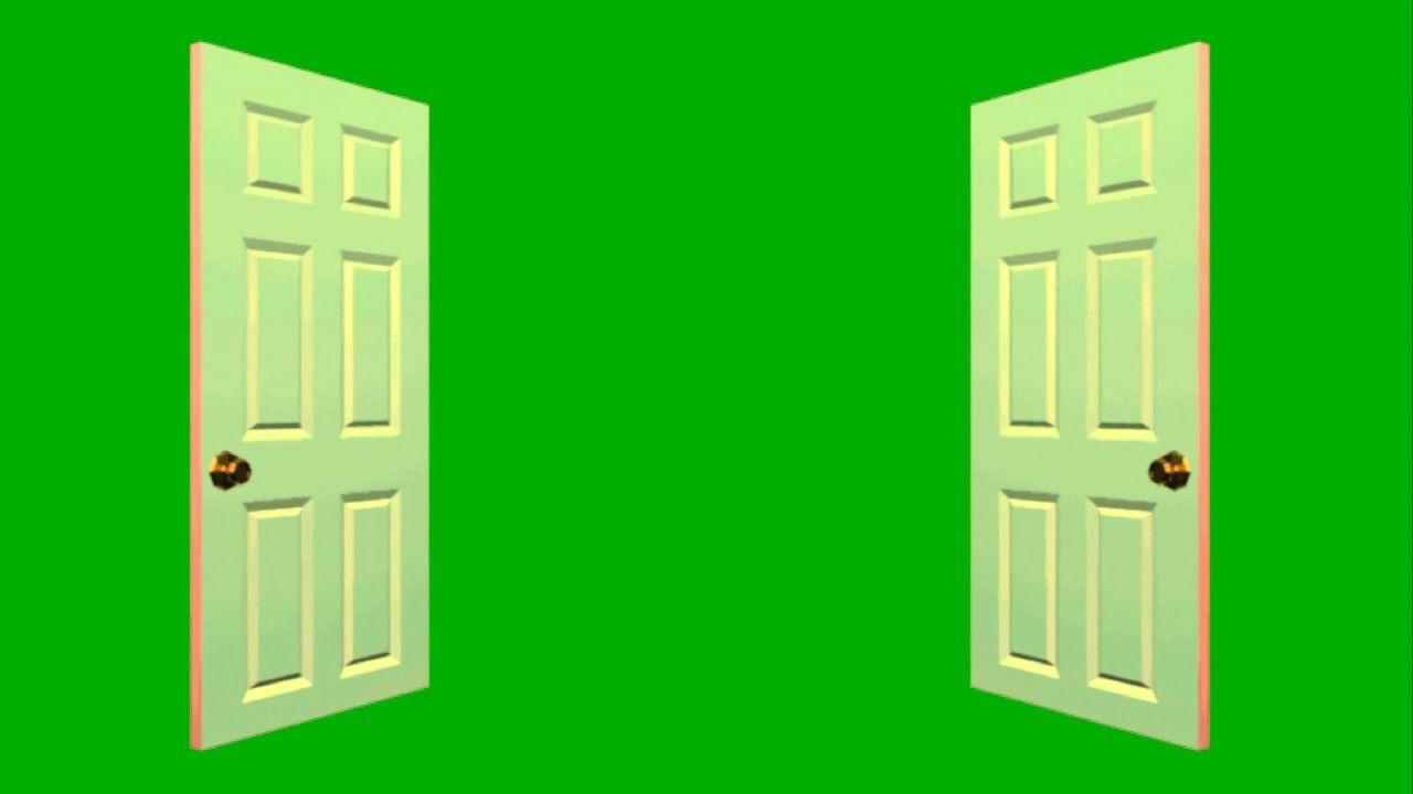 Free Green Screen Video Door Opening And Closing Greenscreen Green Screen Tutorial Free Green Screen