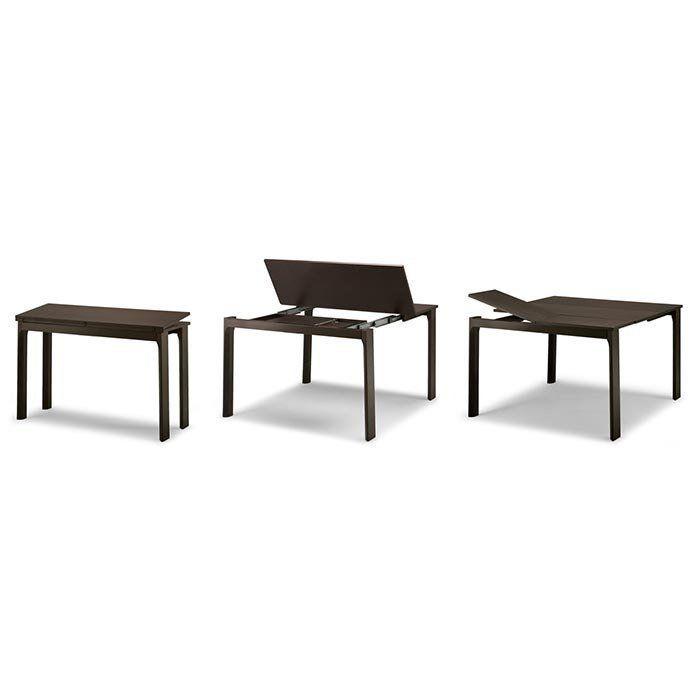 console extensible integrale 8 bois wengu rallonges int gr es tables pinterest console. Black Bedroom Furniture Sets. Home Design Ideas