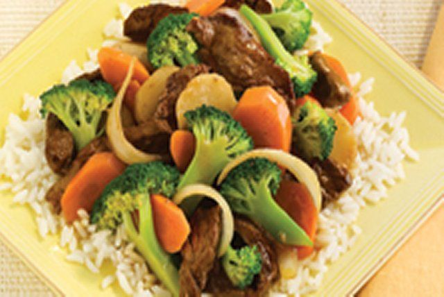 Photo of Sizzling Asian Beef Stir-Fry Recipe – Kraft Canada