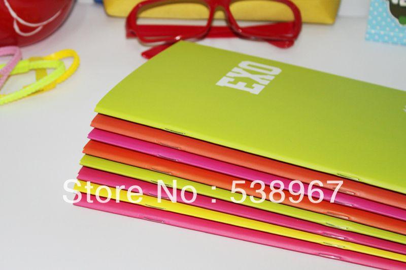 Encontrar Más Libretas Información acerca de Exo SJ TVXQ exo m luminoso edición de han de moda del color puro simple diario / tarea / soft copy / notebook, alta calidad la moda de raíz, China cuaderno de escritura Proveedores, barato cuaderno de cuero de KPop Product Flagship store en Aliexpress.com