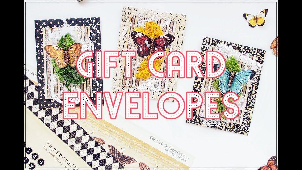 Gift card envelope for graphic 45 gift card envelope