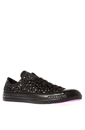 39ad1c062adf80 The Chuck Taylor All Star Rhinestone Sneaker in Black by Converse use rep  code  OLIVE for 20% off!