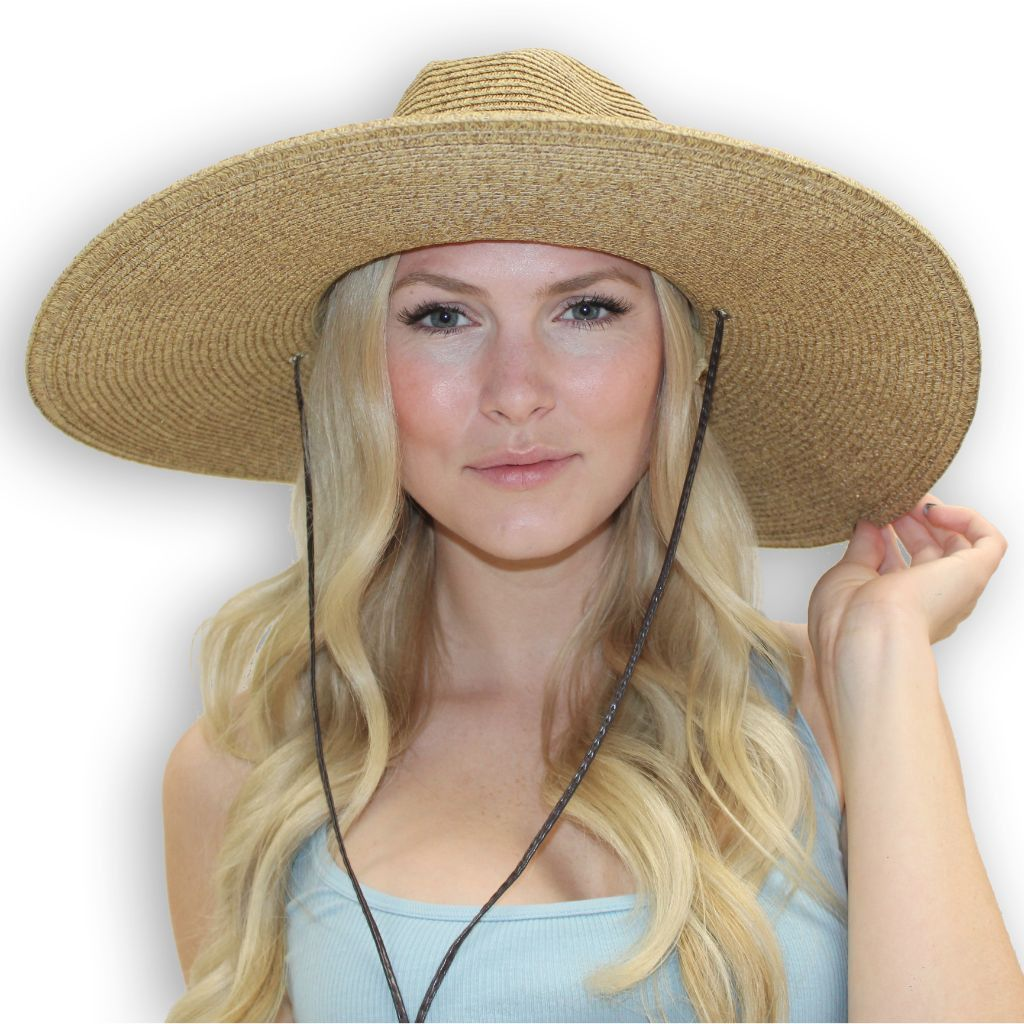 1299306059b El Ranchero Extra Large Brim Straw Sun Hat | She Wears What? | Wide ...