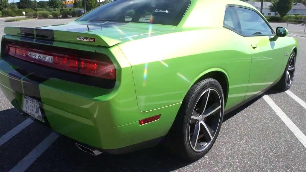 2011 dodge challenger srt8 for sale green with envy 6 speed loaded