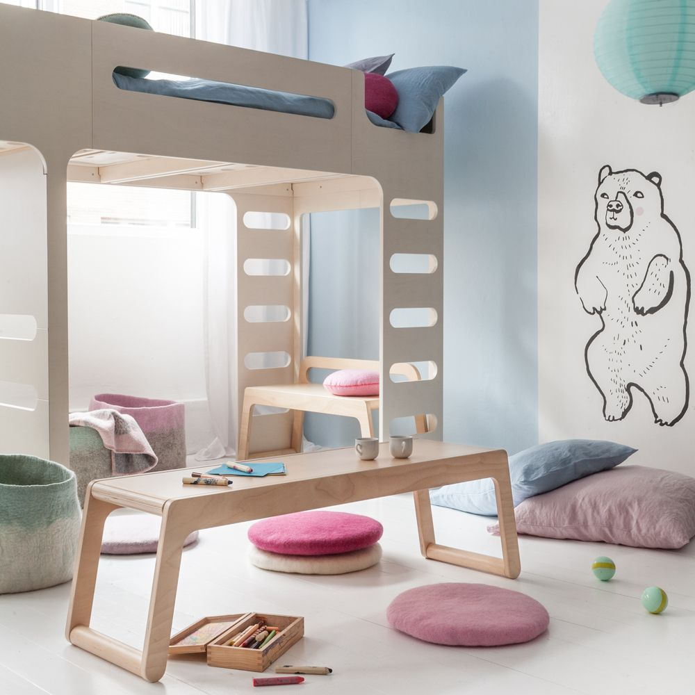 Rafa Kids Room With Double Bed Childrens Bedroom Furniture Kid Room Decor Kids Bedroom Furniture