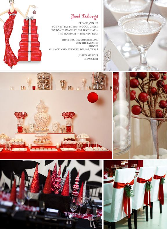 Christmas Party Table Decorating Ideas Bing Images Holidays