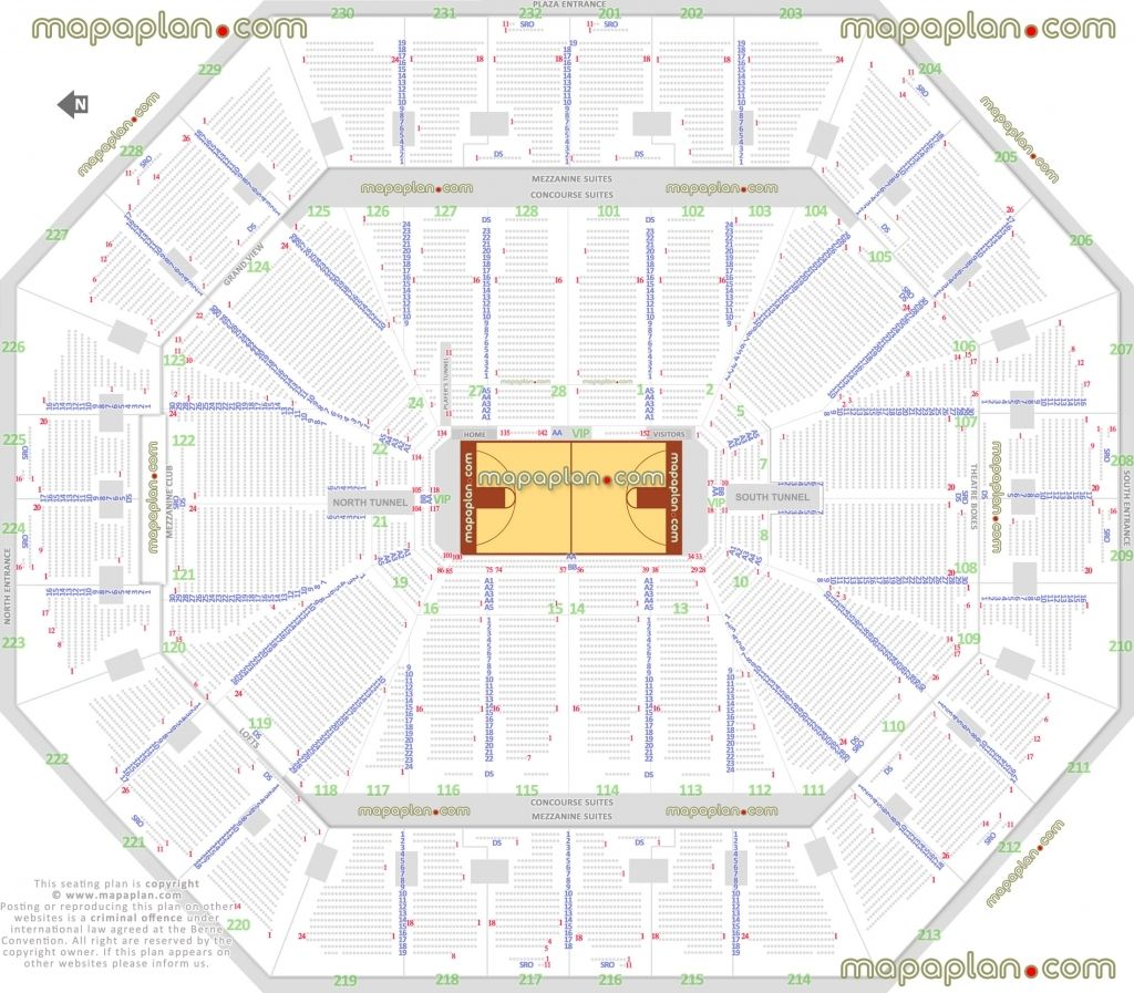 Oracle Seating Chart Warriors