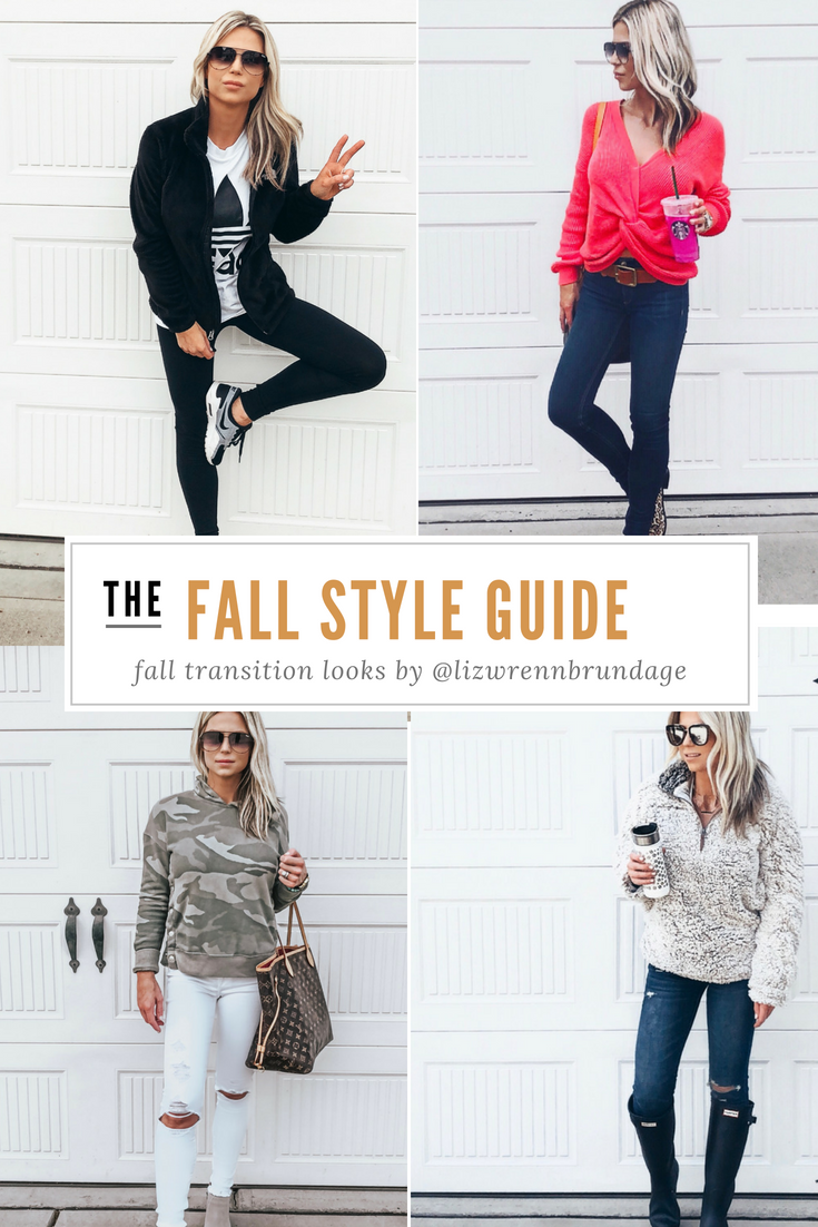 Fashion style Fall to summer style transition for woman