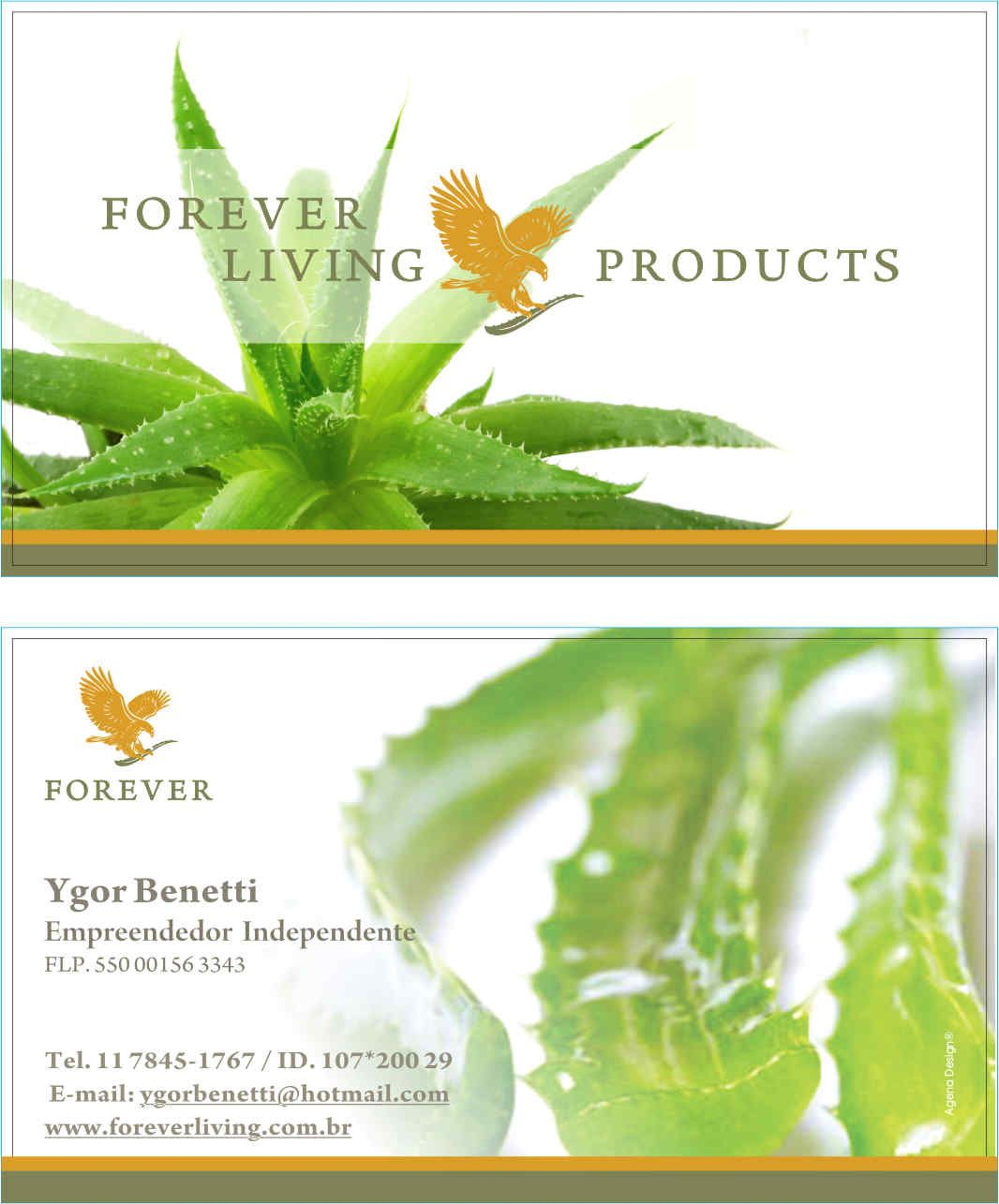 Forever Living Products - Cartão de Visita | Forever Living Products ...