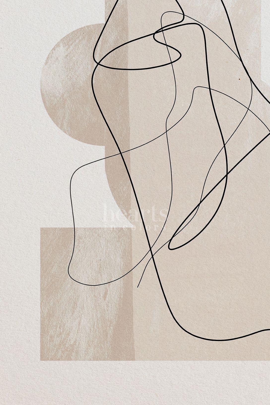 Minimalist wall art Minimal Print minimalist art Abstract Lines painting