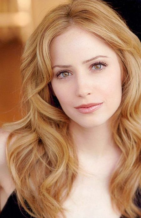 Jaime Ray Newman Strawberry Blonde Hair Color Strawberry Blonde