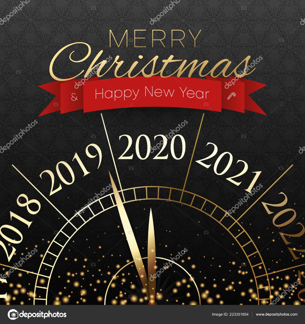 Merry Christmas and Happy New Year 2020 (With images