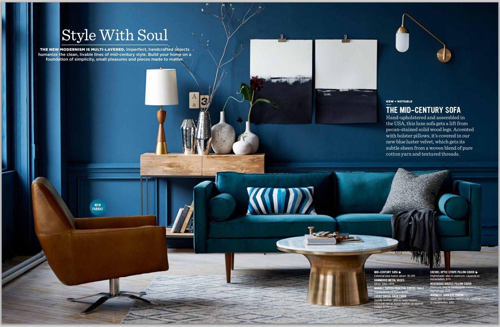West Elm Teal Blue Brown Tan Gold Bronze And White Living Room Color Schemes Gold Living Room Teal Living Rooms #teal #and #gold #living #room #ideas