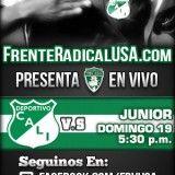 Ver el partido Deportivo Cali vs. Junior en vivo aqui por la Liga Postobón II. Agosto 19 de 2012 – 5:30 pm. Mira gratis en vivo el partido Deportivo Cali vs. Junior en FrenteRadicalUSA.com