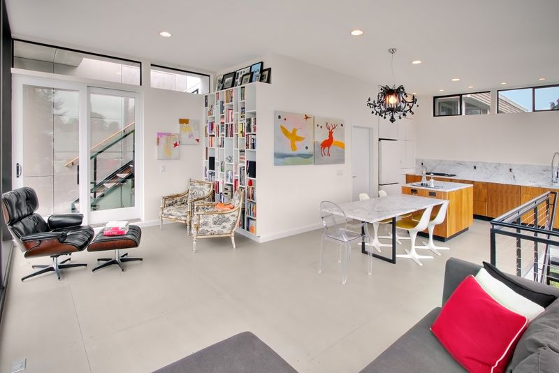 Modern House Design On Small Site Witin A Tight Budget Esszimmer