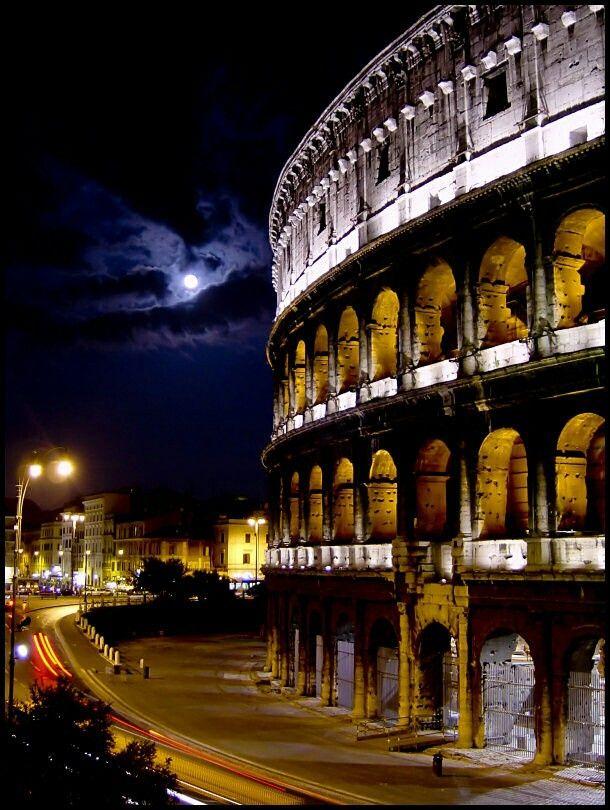 Night, Collesium, ROMA