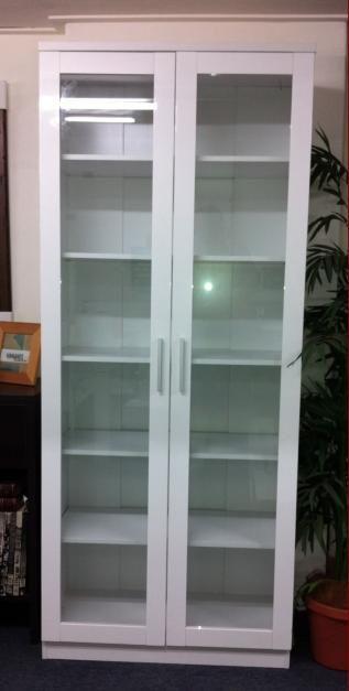 Kinnanes Glass Door Bookcase Home Tips Decor Pinterest Glass