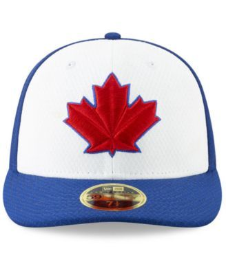 new era toronto blue jays spring training 59fifty fitted low