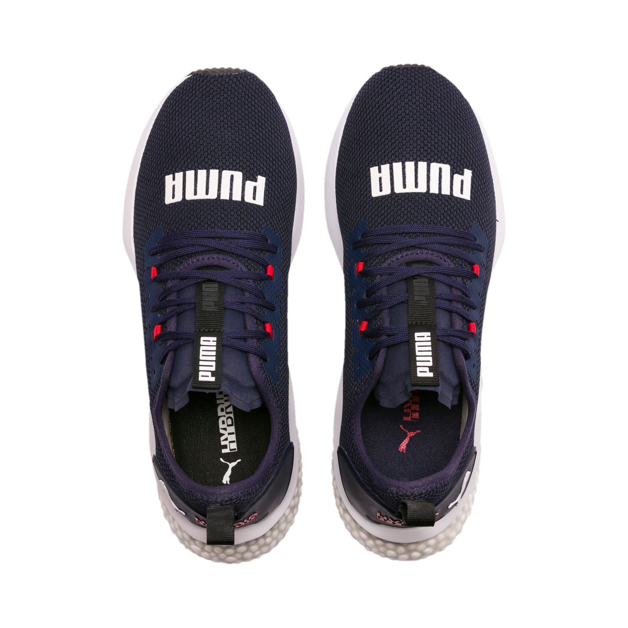 chaussure puma rouge bleu