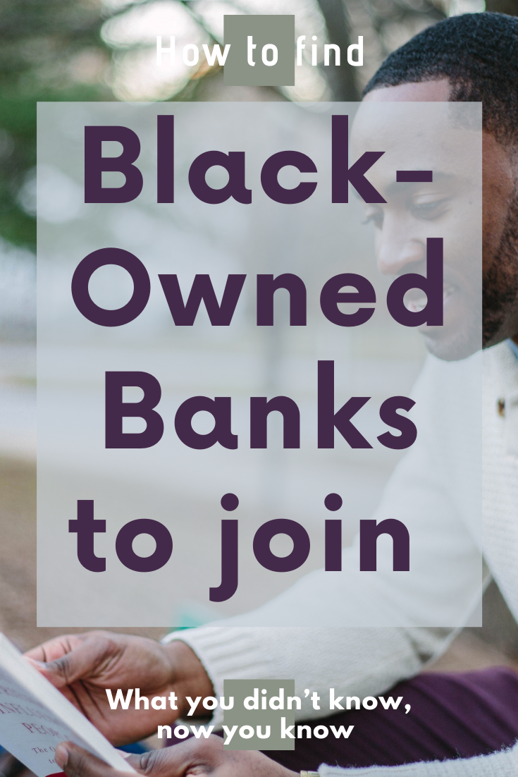 Make the switch to black-owned institutions. #blackowned #blacklives #banking #bankingtips #money #savings