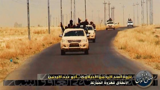 Jihadistas ISIS liberam chocantes fotos Documentando a execução de 1700 Soldados iraquianos