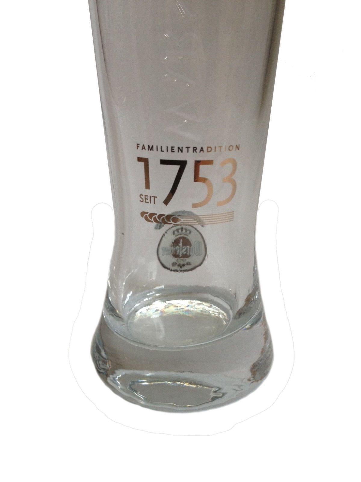 """/""""Schwarzbier/"""" 0.3 Liter Kostritzer German Beer Glass NEW"""