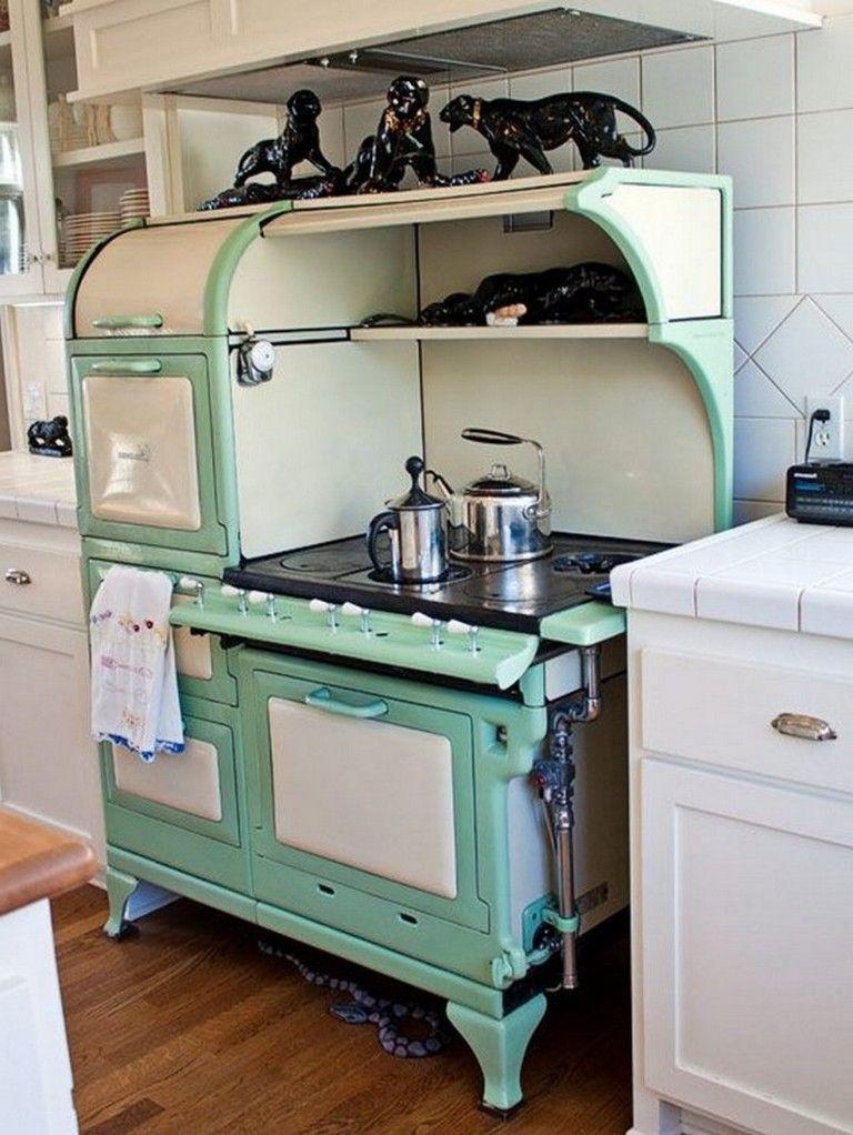 10 Modern Vintage Style Kitchen Appliance Product And Design In 2020 Kitchen Styling Contemporary Kitchen Decor Vintage Kitchen