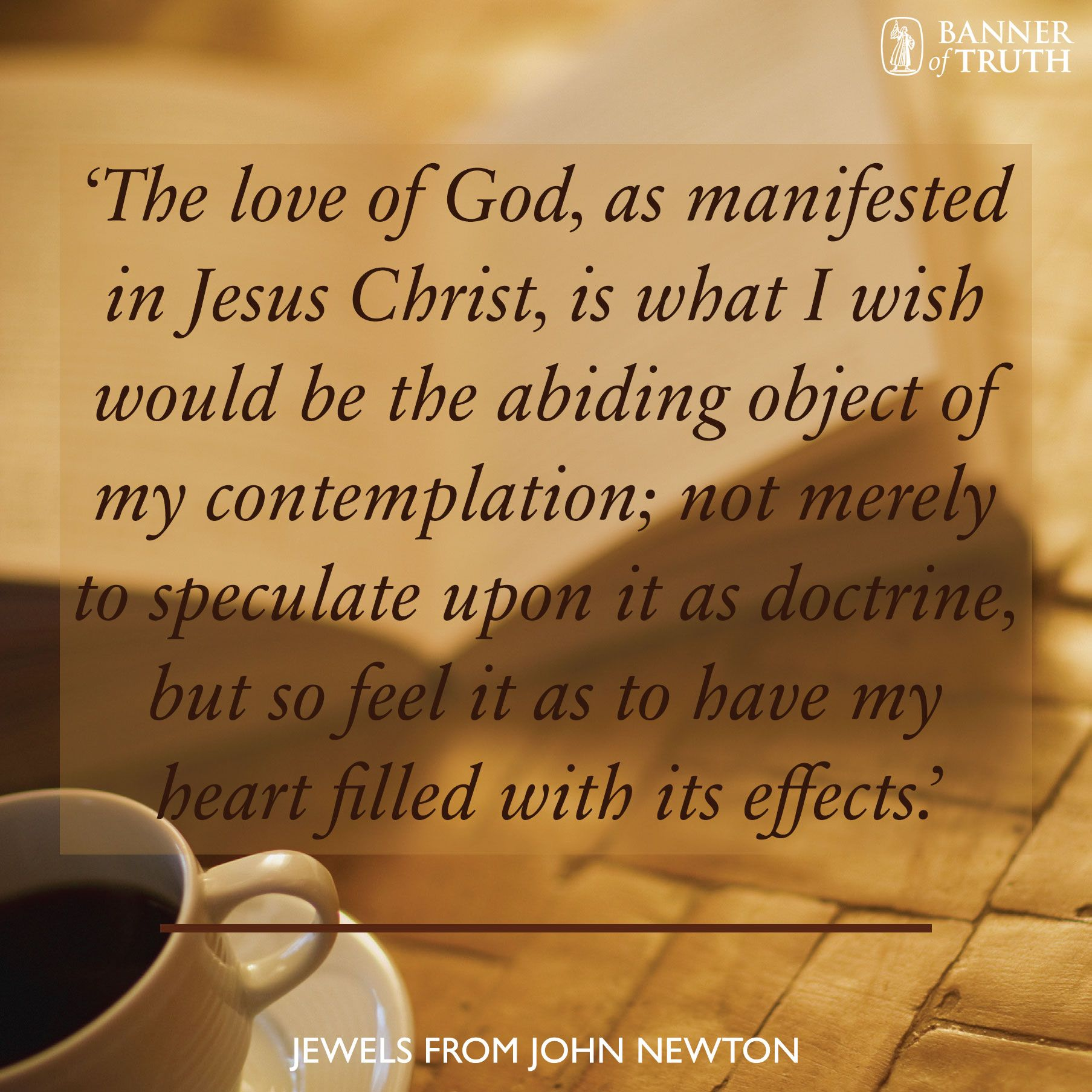 Jesus Quotes About Love The Love Of God As Manifested In Jesus Christ'  Banner