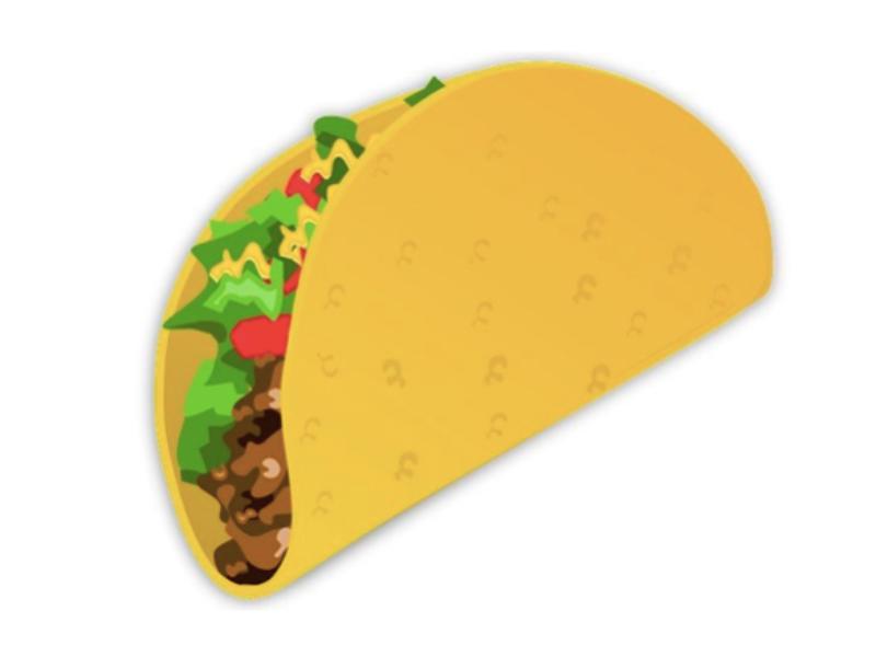 The Taco Emoji Is Here Tacos Taco Wallpaper Emoji