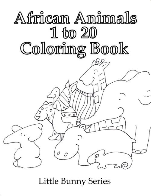Click on the above image for a Cover for the 1 to 20 Coloring Book ...