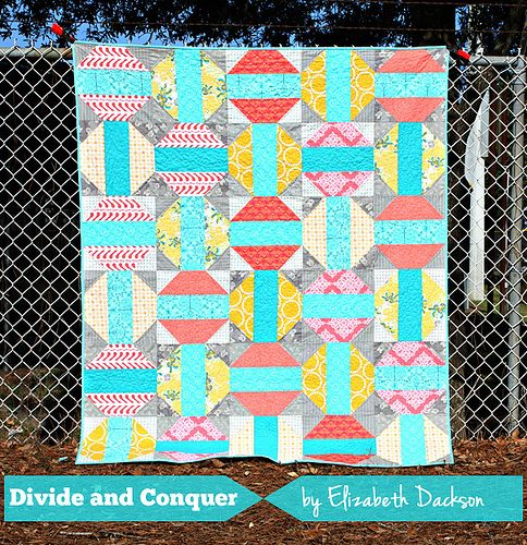 Divide and Conquer - free PDF pattern download   Quliting ... : free fat quarter quilt patterns beginners - Adamdwight.com