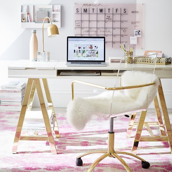 Feminine Desk Chairs Perfect For Small Work Spaces Home Office