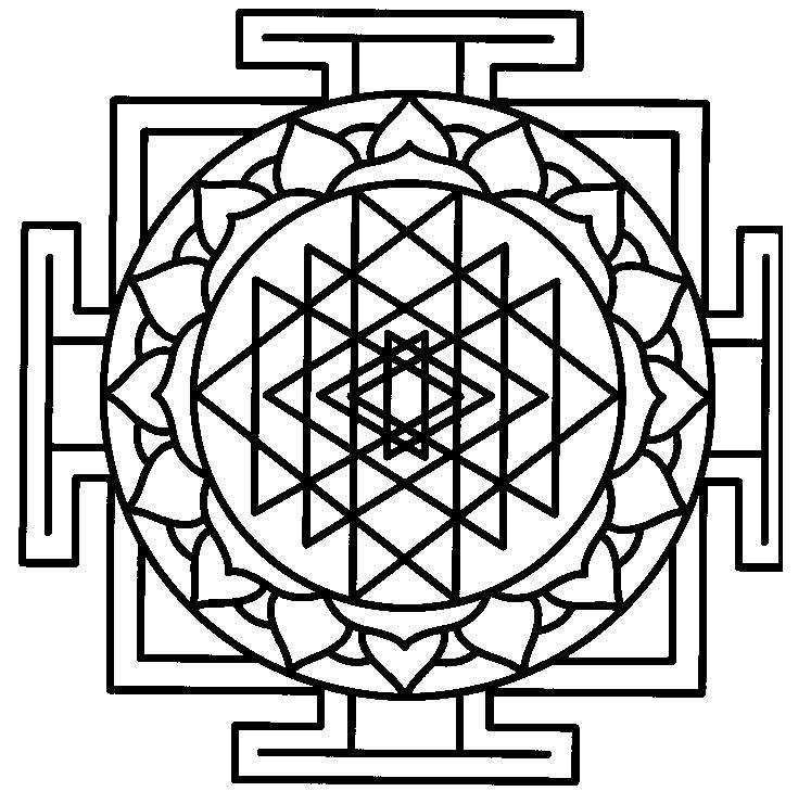 Colouring printable mandalas traditional indian Keep Healthy