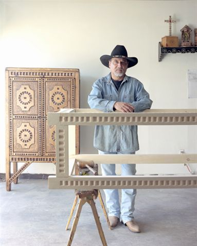 Anthony E. Martinez   Master Craftsman   Spanish Colonial Furniture Santa Fe