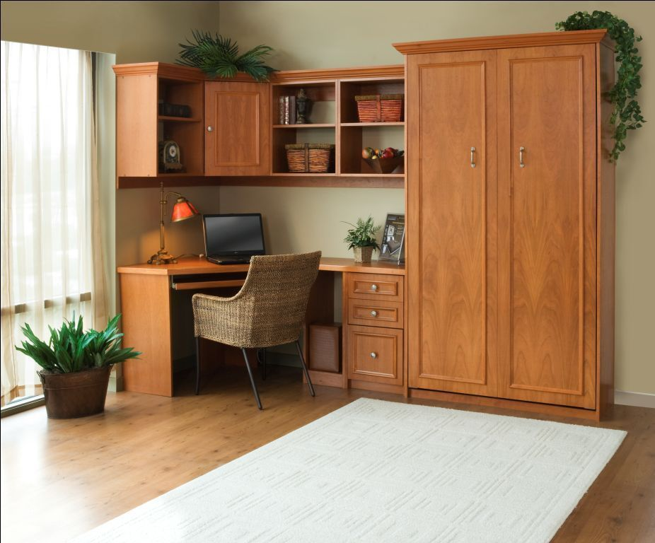 Twin Murphy Bed And Home Office Space And Murphy Bed Home Office Space