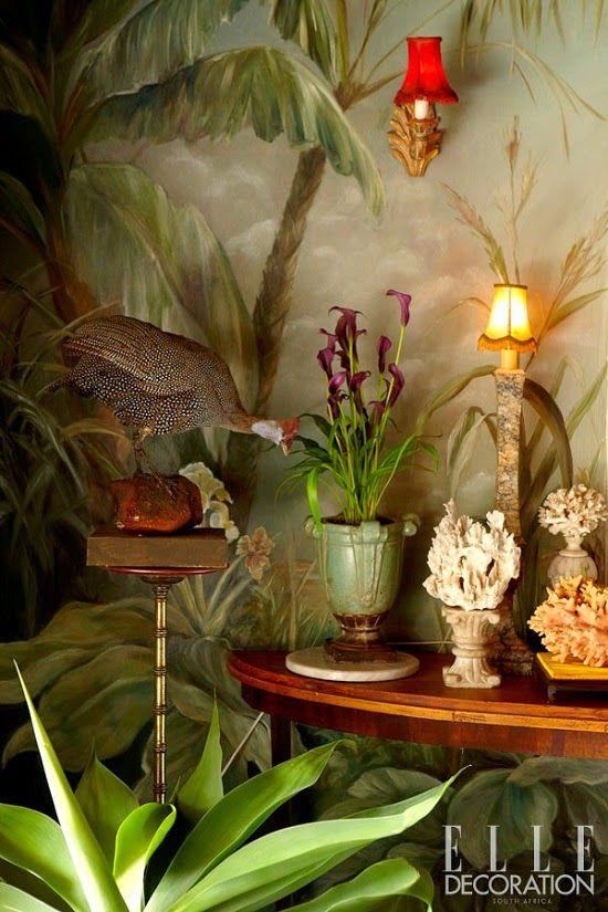 Die Wohngalerie Tropisches Interieur Tropischer Stil Tropische Dekoration