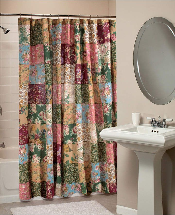 Antique Chic Bath Shower Curtain Bedding House Styles Curtains