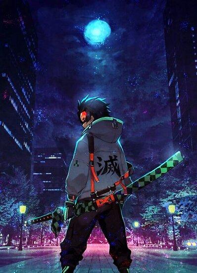 Tanjiro Kamado Demon Slayer Poster