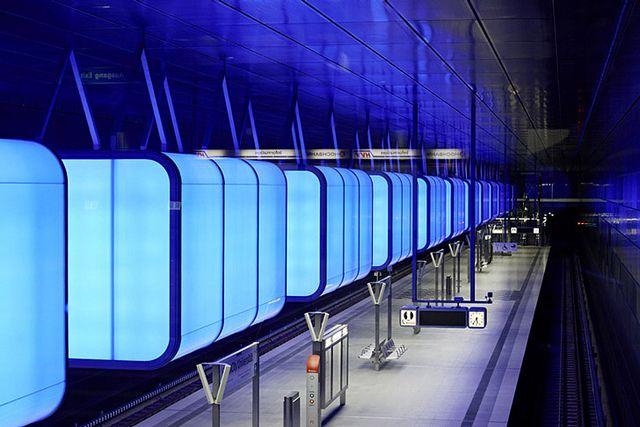 Train Station - Hamburg-Subway-LED-Lighting by PortlandDevelopments via Flickr & Train Station - Hamburg-Subway-LED-Lighting   Hamburg Train ... azcodes.com